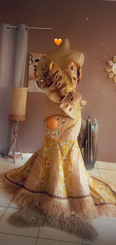 Confection des tenue coutumier