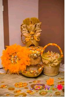 Pack accessoires pour mariage coutumier