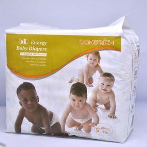 Couches pour bébé - pur cotton - 5D Energy Longrich - Taille XL de 12/17KG Quantité 22 couches