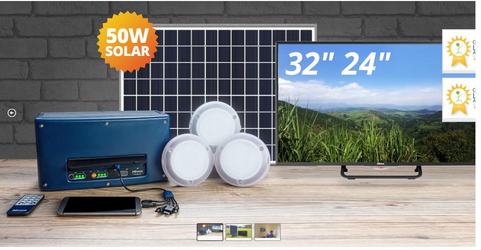 SOLAR BOX TV