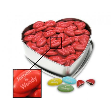 Dragées personnalisées au chocolat. 500g