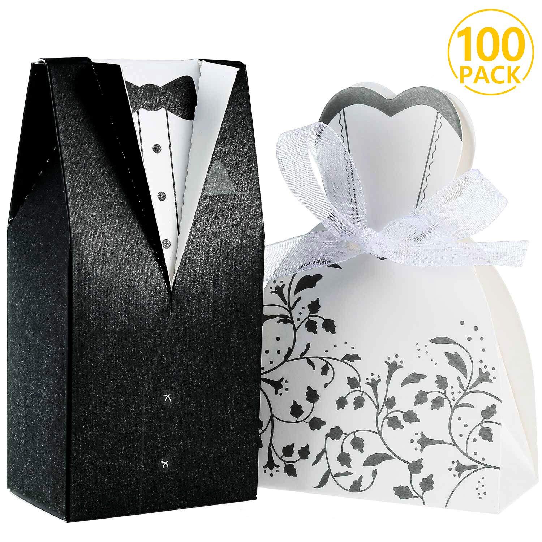 Boîte couple marié. Lot de 100
