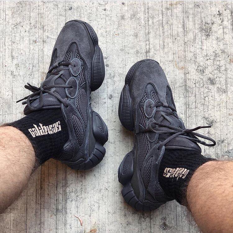 Basket Noir Homme