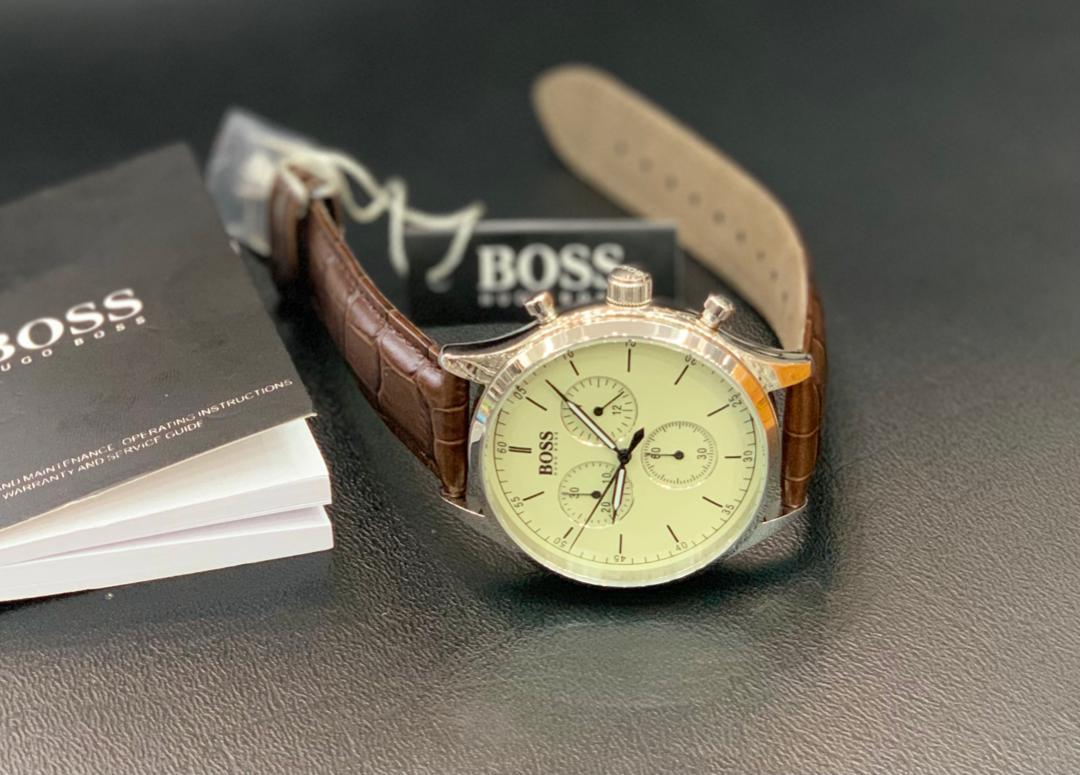 Hugo Boss Montre chronographe   pour homme