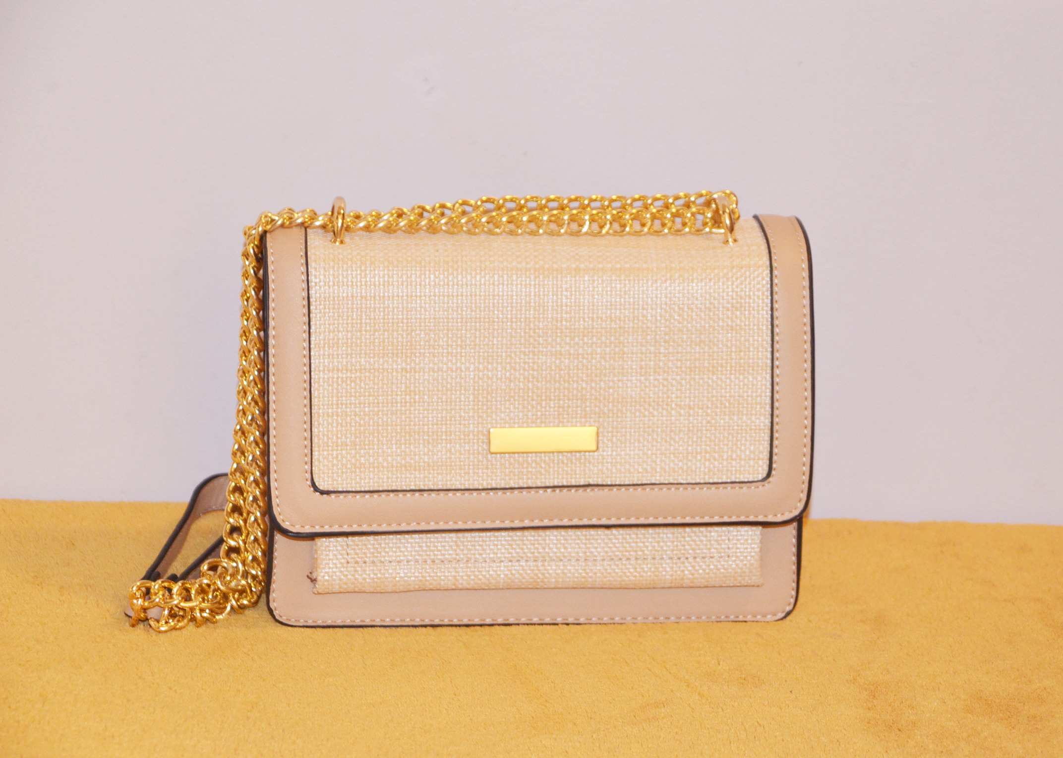 Sac à bandoulière - BE EXCLUSIVE - Beige