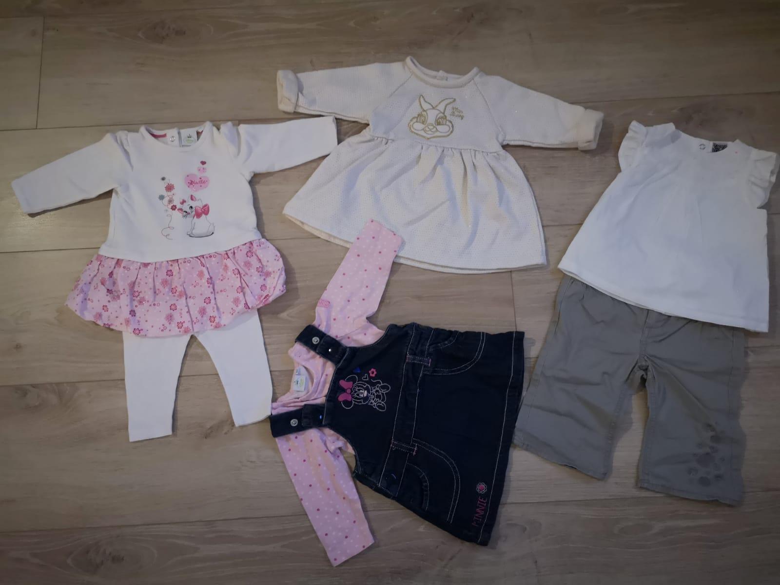 Lot  4 tenues bébé 6 mois
