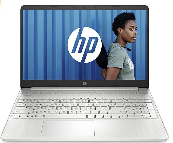 "HP Portable 15,6"" FHD Argent (Intel Core i3, RAM 4 Go, SSD 512 Go, Windows 10)"
