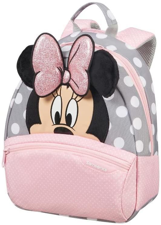 Samsonite Disney Ultimate 2.0 Sac à dos pour enfants, 29 cm, 7 L, multicolore (Minnie Glitter)