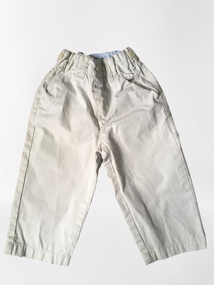Pantalon couleur beige