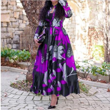Robe africaine Ankara pour femmes taille L