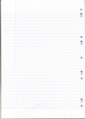 1 paquet de 100 feuilles simples