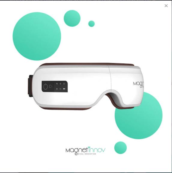 Magnet-Relax  - Masseur Oculaire