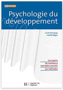 Psychologie du développement Broché – 11 août 2004