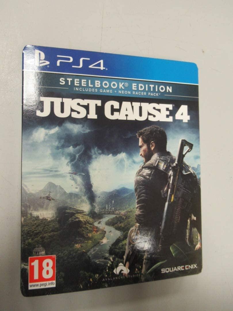 JEU PS4 JUST CAUSE 4
