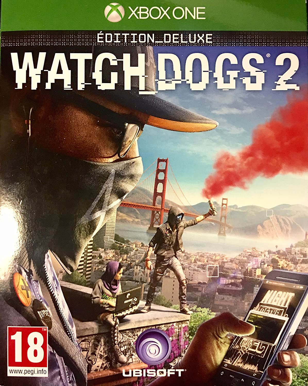 JEU PS4 WATCH DOGS 2 EDITION DELUXE