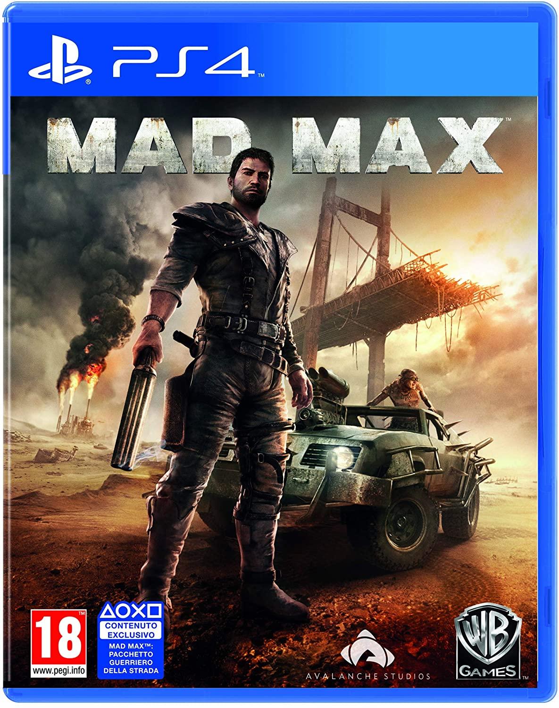 JEU PS4 MAD MAX