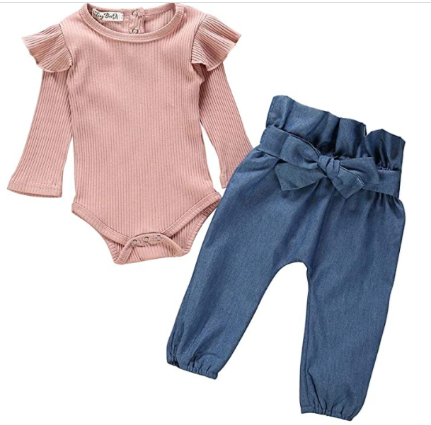 Ensemble Bebe Fille 2PCS