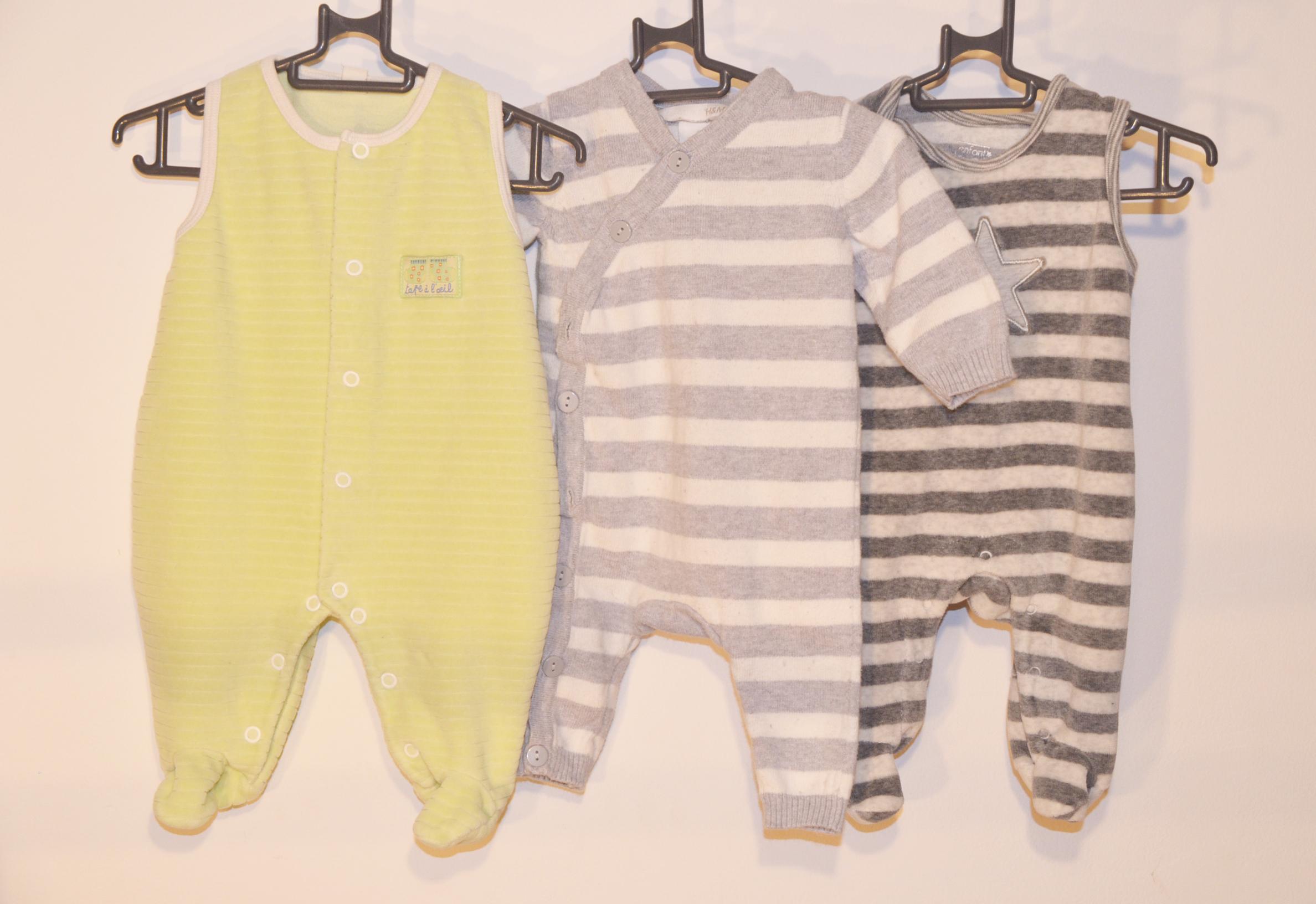Lot 3 pyjamas - 1 mois garçon