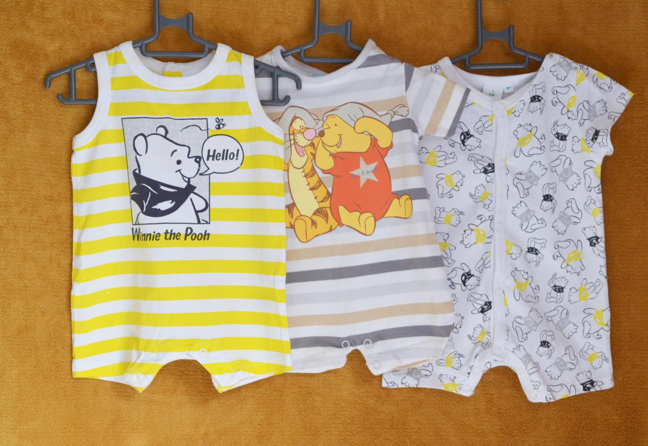 Lot 3 pyjamas - 3 mois garçon - Disney baby