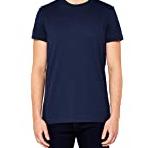 MERAKI T- Shirt Homme, Bleu Marine, L