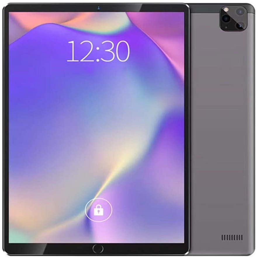 tablet PC PC 10,1 Pouces 2K HD Processeur dix cœurs Android 8.1 4G RAM + 128G ROM 8MP + 16MP Pixels 8500mAh Dual-Band WiFi Dual-SIM Dual-Standby 4G Call Phone