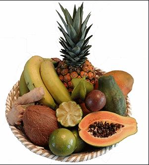 Panier de fruits détox