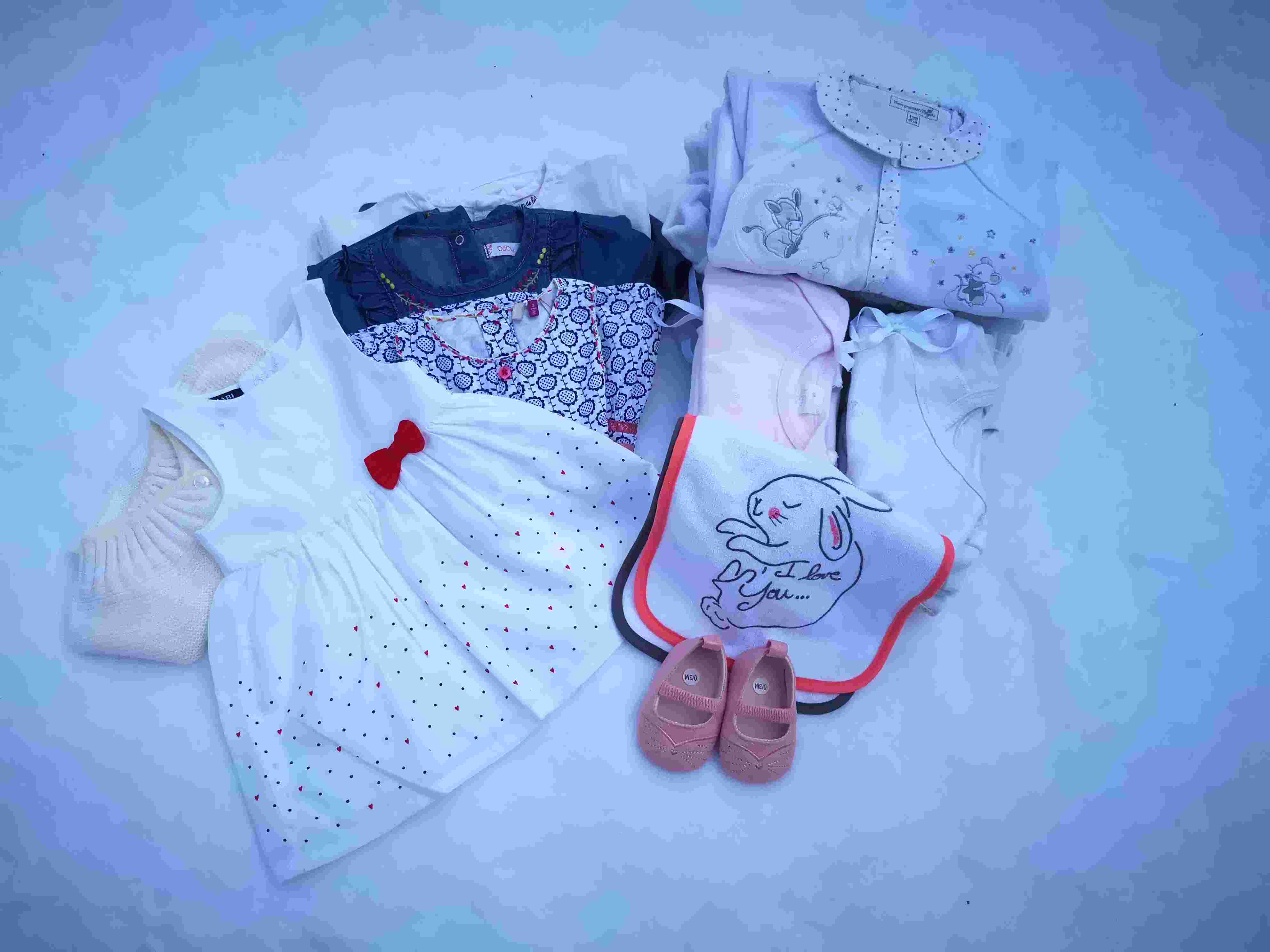 Trousseau naissance 1/3 mois - Fille