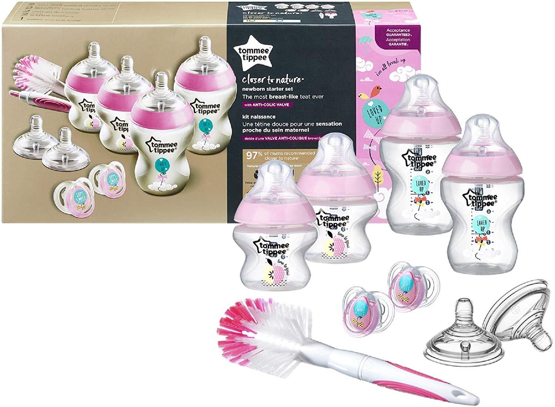 "kit naissance ""biberon anti-coliques""TOMMEE TIPPEE"