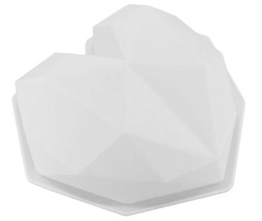 Moule à gâteau silicone cœur