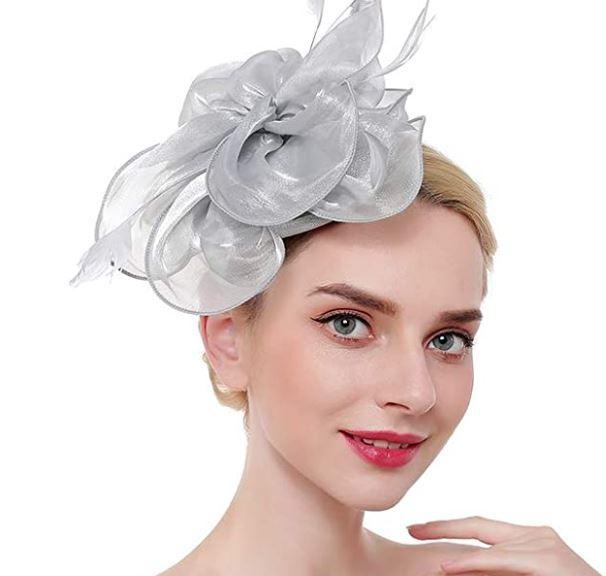 Fascinators Femmes Chapeau Pince